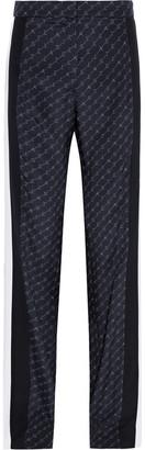 Stella McCartney Dana Printed Silk Crepe De Chine Wide-leg Pants