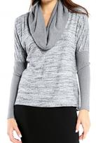 Michael Stars Knit Cowl-Neck Top
