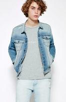 Calvin Klein Applique Denim Trucker Jacket