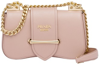 Prada Sidonie New Saffiano Lux And Flap Closure/nuova Senza Soffietto