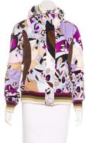 Emilio Pucci Patterned Puffer Jacket