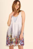 Umgee USA White Floral Dress