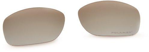 Oakley Ten 43-364 Polarized Rimless Sunglasses,Multi Frame/Black Lens,One Size