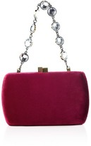 SERPUI Katy Velvet Clutch