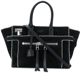 Zadig & Voltaire Studded Large Tote