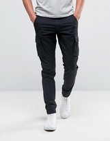 Only & Sons Cargo Trouser In Skinny Fit