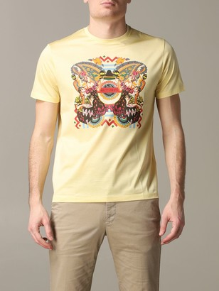 Etro T-shirt Short-sleeved T-shirt With Mexican Print