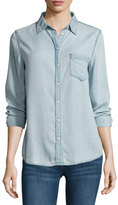 DL1961 Mercer & Spring Chambray Shirt, Bleach