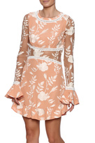 For Love & Lemons Coral Dress