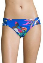 LaBlanca La Blanca Printed Shirred Bikini Bottom