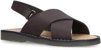 Babywalker Liam Leather Cross Sandals