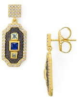Freida Rothman Embellished Drop Earrings