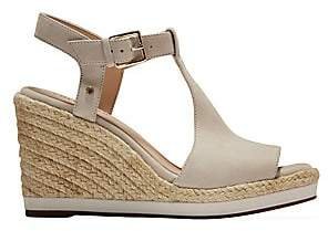 Cole Haan Women's CloudFeel Suede Espadrille Wedge Sandals