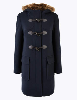 M&S CollectionMarks and Spencer Hooded Duffle Coat