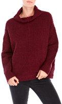 Eileen Fisher Slub Knit Funnel Neck Sweater