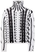 Altuzarra Caravan wool and mohair-blend knitted sweater