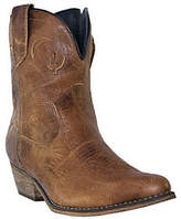 Dingo Leather Cowboy Boots - Adobe Rose