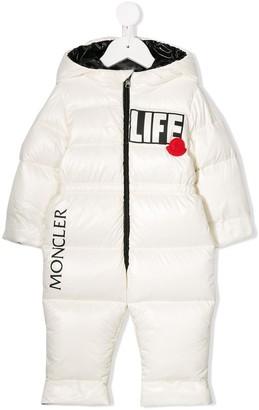 Moncler 'Life' snowsuit