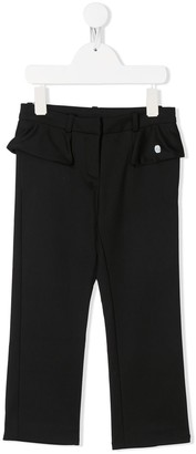 Christian Dior Ruffle Detail Trousers
