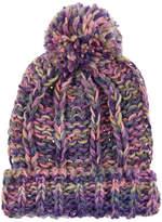 Monsoon Chunky Sparkle Knitted Pom Beanie Hat
