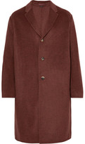 Acne Studios Chad Oversized Double-faced Wool And Cashmere-blend Overcoat - Brick