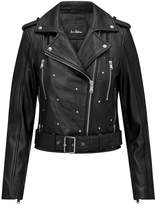 Sam Edelman Starburst Leather Jacket