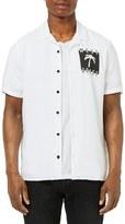 Topman West Coast Graphic Camp Shirt