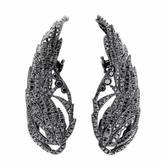 Black Diamond Runa Jewelry Wings Night Earrings