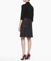 Eileen Fisher Sparkle V-Neck Dress