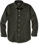 Arizona Long-Sleeve Plaid Shirt - Boys 8-20 and Husky