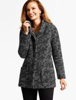Talbots Modern Tweed Coat