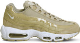 Nike 95 leather and mesh trainers
