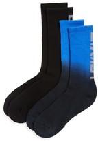 2xist Dip-Dye Sport Crew Socks