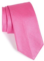 Nordstrom Men's 'Nate' Solid Silk Tie