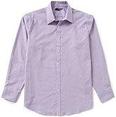 Murano Long-Sleeve Dobby Point Collar Sportshirt
