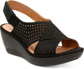 Clarks Collection Women's Reedly Variel Wedge Sandals