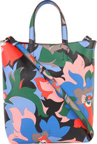 Emilio Pucci Leather flower print tote