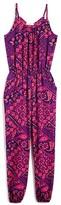 Pinc Premium Girls' Geometric Paisley Print Jumpsuit - Sizes S-XL
