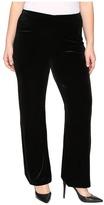 Lysse Plus Size Velvet Pants