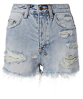 Ksubi Tongue And Cheek Cut Off Shorts