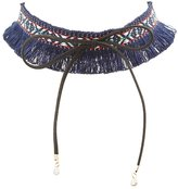 Charlotte Russe Woven Choker Necklace