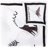 DSQUARED2 printed scarf - men - Silk - One Size