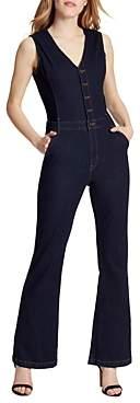 Ella Moss Denim Vest Jumpsuit