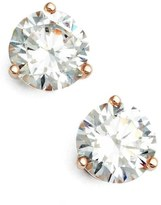 Nordstrom Precious Metal Plated 2ct tw Cubic Zirconia Earrings