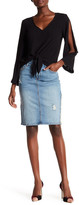 Rachel Roy Stella Wash Denim Pencil Skirt