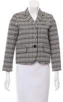 Marc Jacobs PAtterned Long Sleeve Jacket