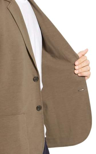 James Perse Men's Slub Jersey Blazer