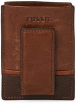 Fossil Brown Ian Magnetic Card Case
