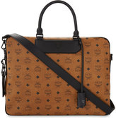 Mcm Nomad Leather Briefcase