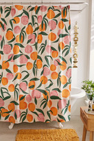 Urban Outfitters Allover Fruits Shower Curtain